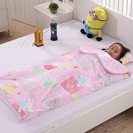 Suave y hermoso saco de dormir para bebés 1-3 años de edad, tipo de sobre, artefacto antichoque y antideslizante, modelos de otoño e invierno, edredón de niños y niñas de jardín de