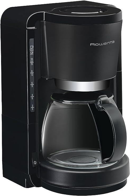 Rowenta CG380811 Cafetera de goteo, 1100 W, 1.25 L, color negro: Amazon.es: Hogar