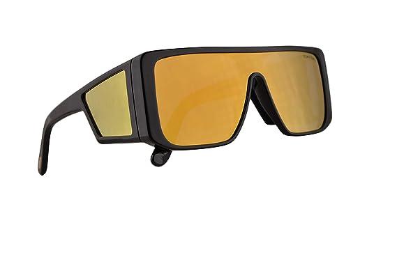 b5911db1915 Amazon.com  Tom Ford FT0710 Atticus Sunglasses Shiny Black w Brown ...