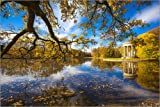 Posterlounge Alu Dibond 180 x 120 cm: Park of Nymphenburg palace by Editors Choice