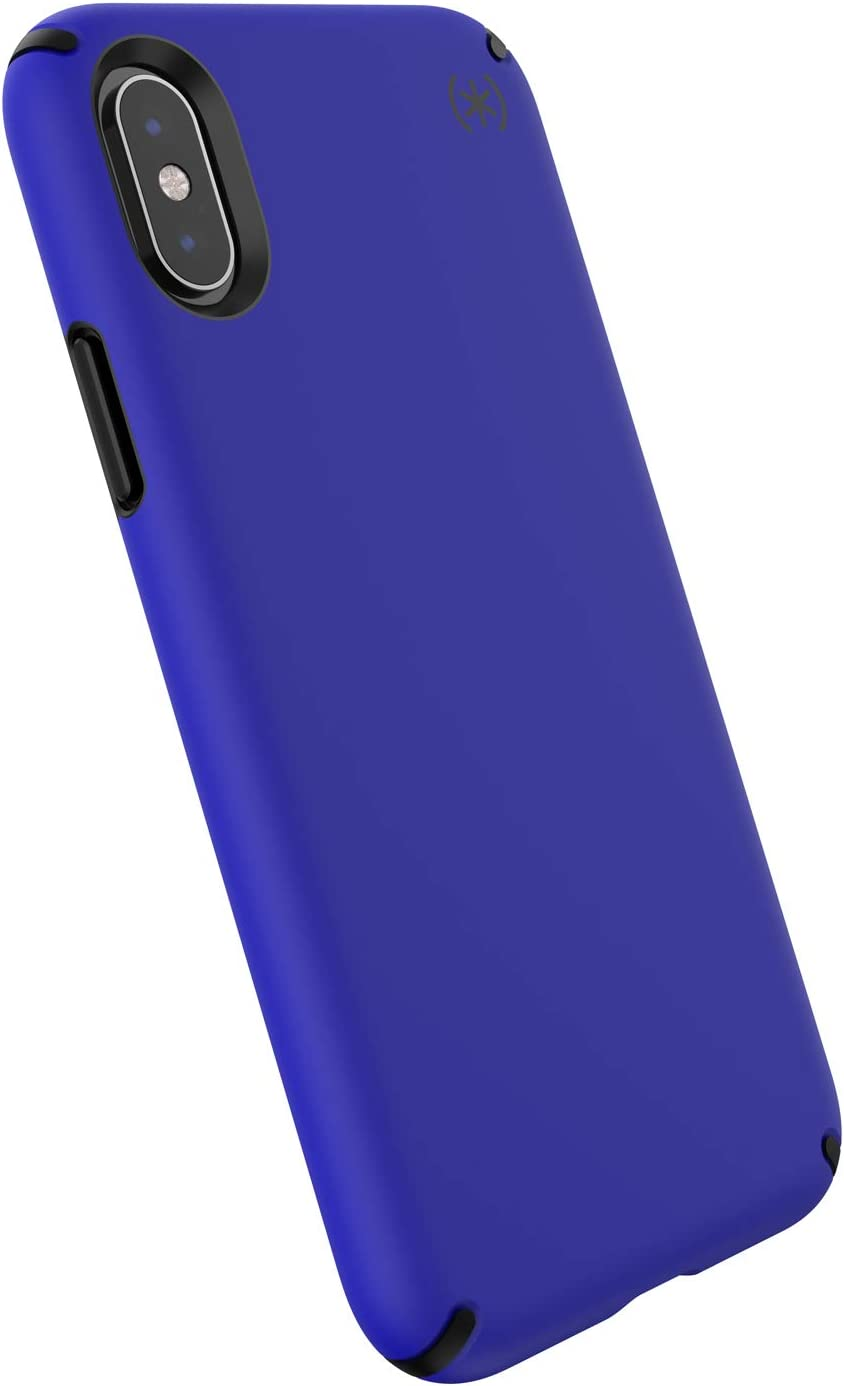 Speck Products, iPhone Xs/iPhone X Case, Presidio PRO, Anorak Blue/Black, 123802-8057