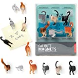 6 Kikkerland Cat Animal Butt Magnets Fridge Strong Magnetic Surface Gift Novelty