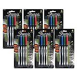 Sharpie Plastic Point Pen, 0.8mm, Fine Point, Assorted Colors, 24 Count