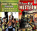 Silver Kid Western. Issues 2 and 5. Action packed tales of the west. Gunslingers, lawmen, outlaws, marshals. Golden Age Digital Comics Wild West Western