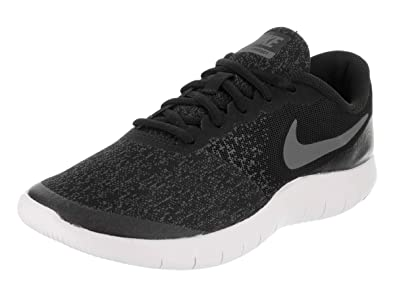 464ade9d4a5c4 Image Unavailable. Image not available for. Color  Nike 917932-002  Flex  Contact Black Dark Grey Sneakers ...