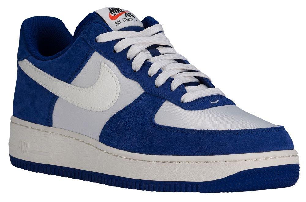 [ナイキ] Nike Air Force 1 Low - メンズ バスケット [並行輸入品] B071X46ST6 US08.0 Deep Royal Blue/Phantom/Sail