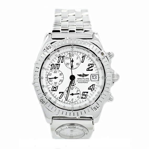 Breitling Chronomat automatic-self-wind Mens Reloj a13350 (Certificado) de segunda mano: Breitling: Amazon.es: Relojes