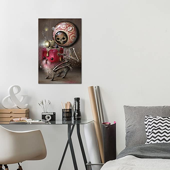 iCanvasART Light Rider Canvas Print by Jason Limon 26 x 18