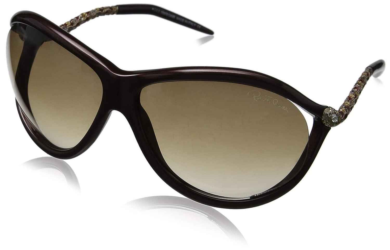 Amazon.com: Roberto Cavalli rc853s Oval anteojos de sol caph ...