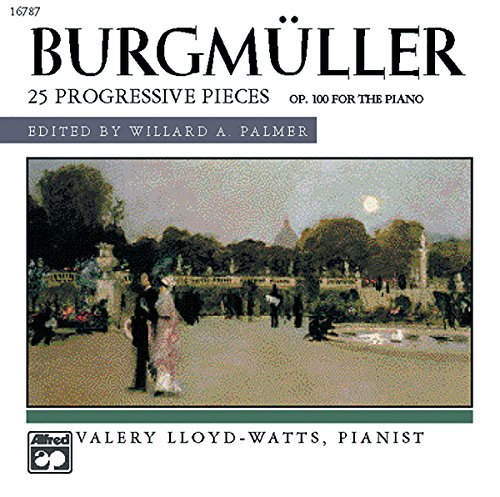 Burgmüller -- 25 Progressive Pieces, Op. 100