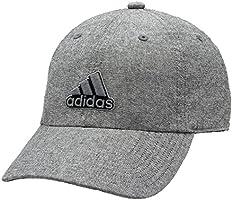 Adidas Men 's Ultimate Relajado Gorra, Negro/Onix/Grey Chambray, Una Talla