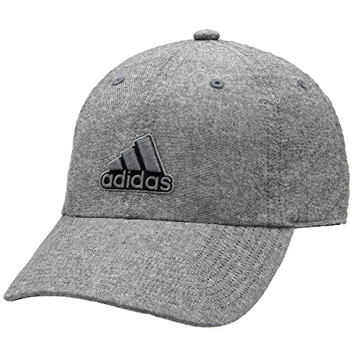 adidas Men's Ultimate Relaxed Fit Cap, Black/Onix/Grey Chambray, One - Cap Stretch Lightweight