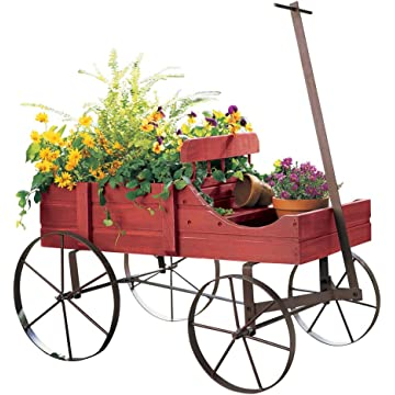 Collections Etc. Amish Planter