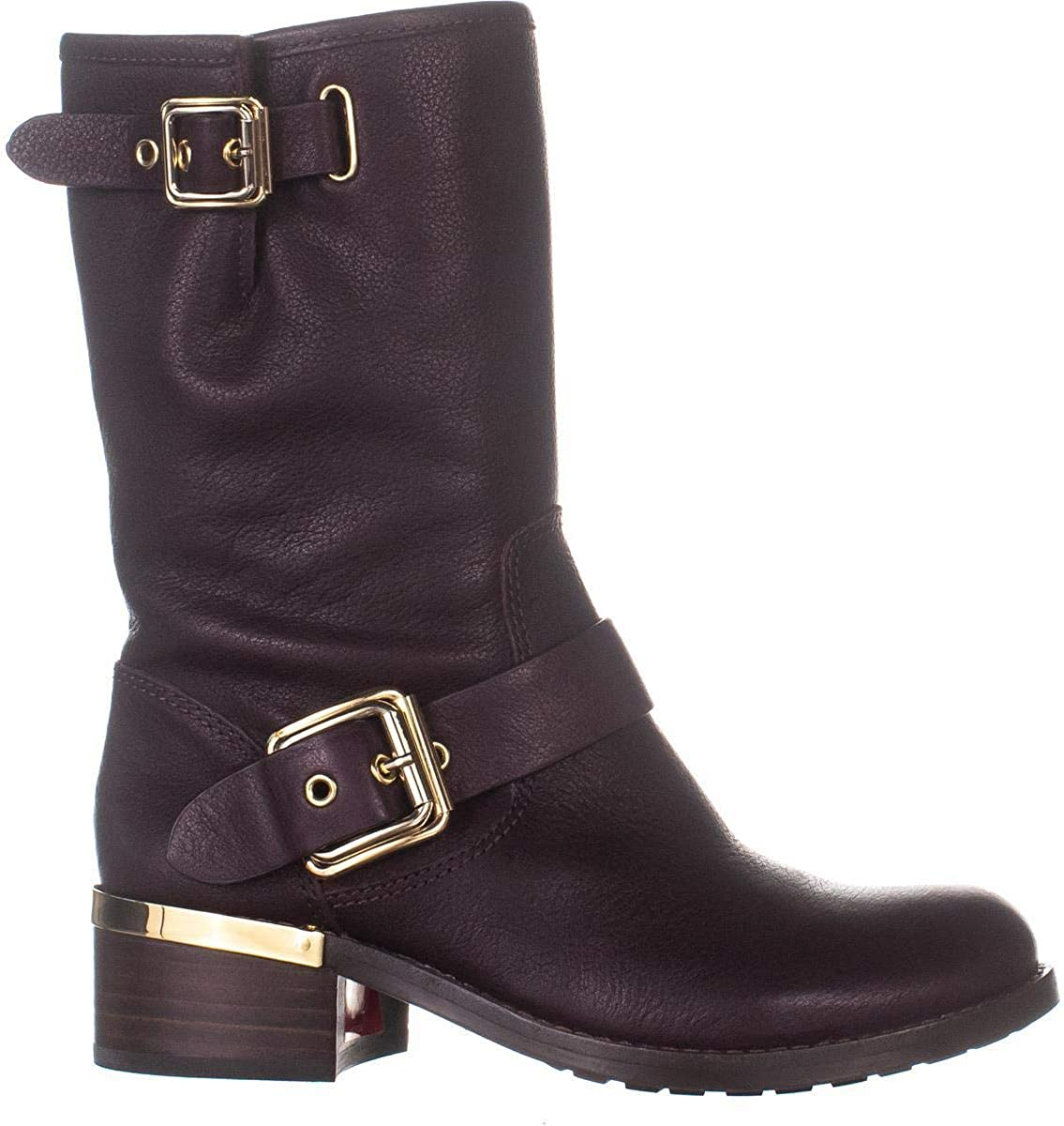 Vince Camuto Womens Windy Motorcycle Boot