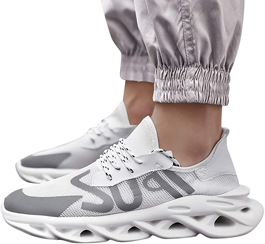 RYTEJFES Zapatillas Deportivas Antideslizantes Deportivas Transpirables para Hombre De Moda Zapatillas De Deporte Calzado Deportivo Tallas Grandes Antideslizantes Transpirables para Correr: Amazon.es: Zapatos y complementos