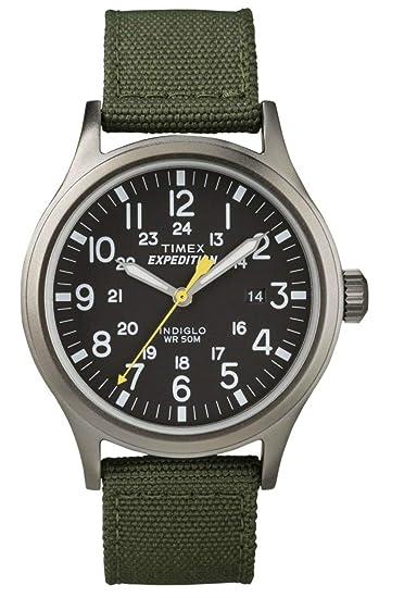 377e7a06496d Timex Expédition Scout - Reloj análogico de cuarzo con correa de nailon  para hombre