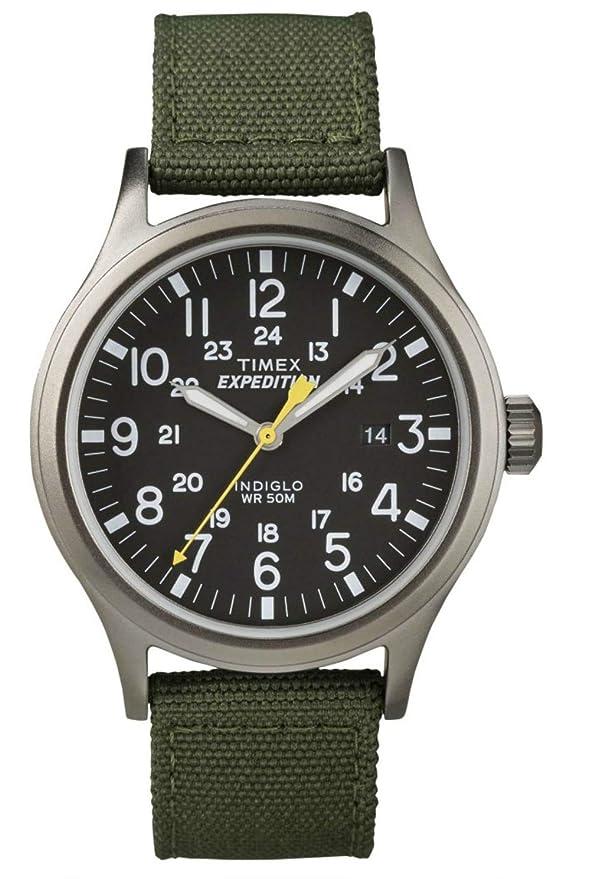 Reloj Timex con correa de tela para hombre