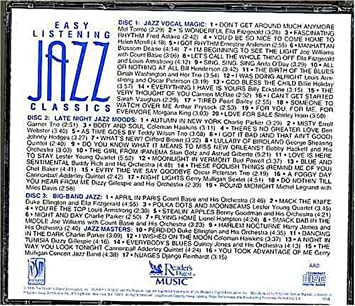 Easy Listening Jazz Classics : Jazz Vocal, Late Night Jazz Moods and  Big-band Jazz