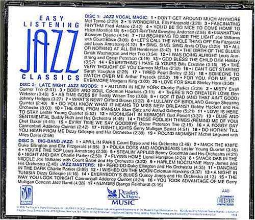 - Easy Listening Jazz Classics : Jazz Vocal, Late Night Jazz Moods and Big-band Jazz