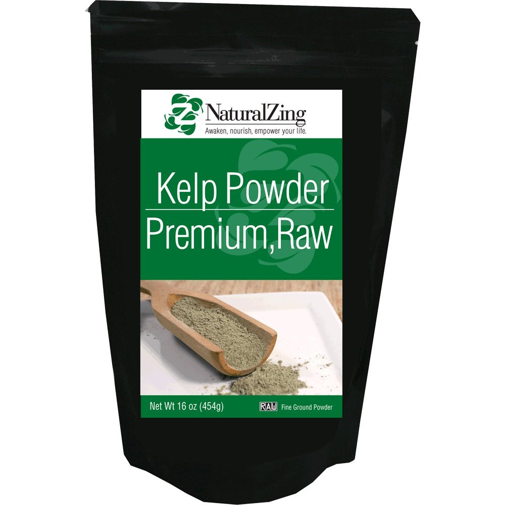 Kelp Powder, Fine Ground (Raw, Organic) 1 Lb