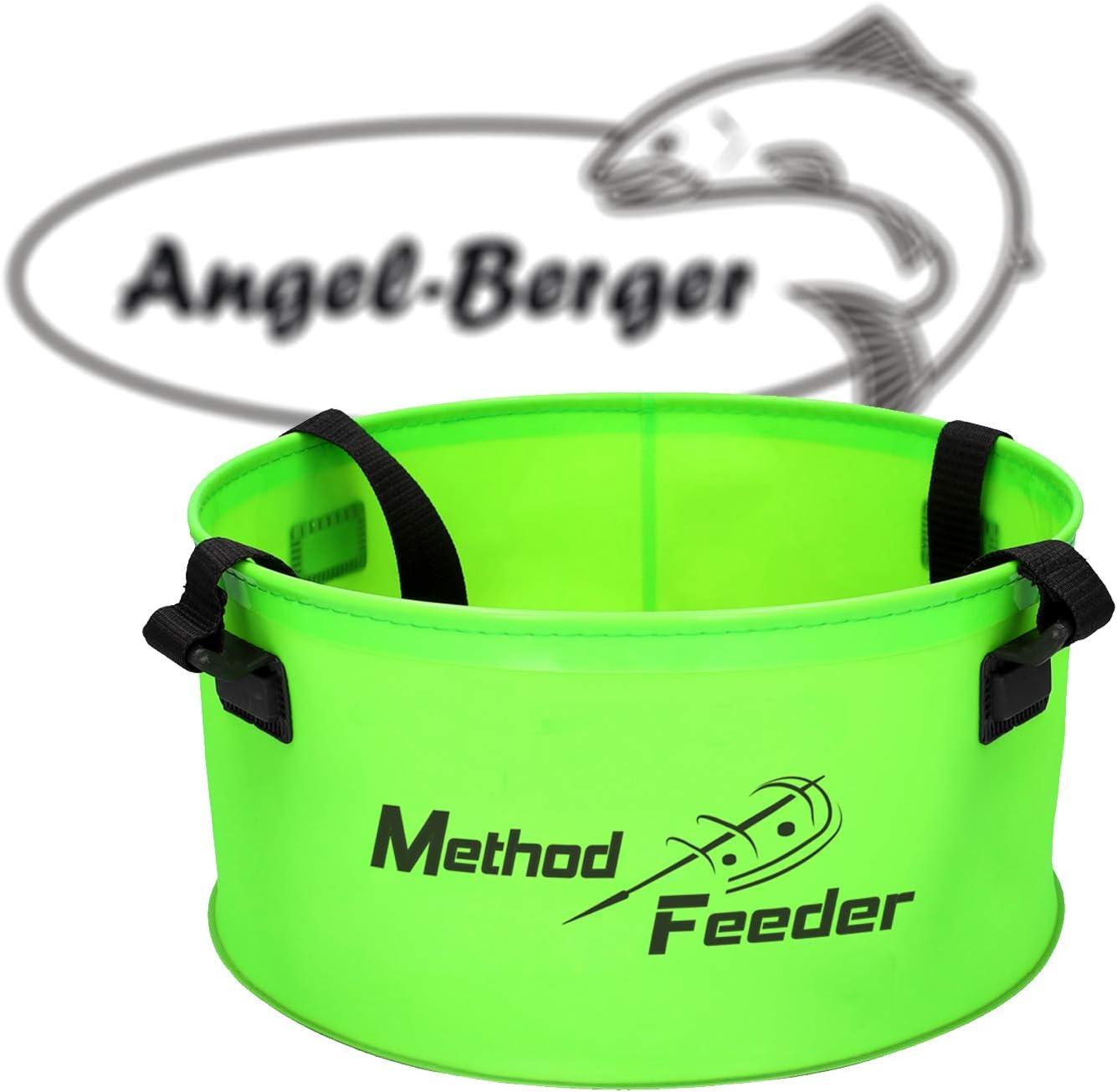 Angel-Berger Method Feeder Falteimer Eva Feedertasche Angeltasche Futtereimer