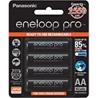 Panasonic eneloop BK-3HCCE/4BN Rechargeable Battery - Pack of 4