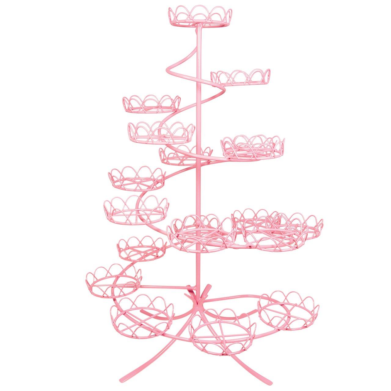 PME CS1006 Cupcake Stand, Pink Knightsbridge Global Ltd.