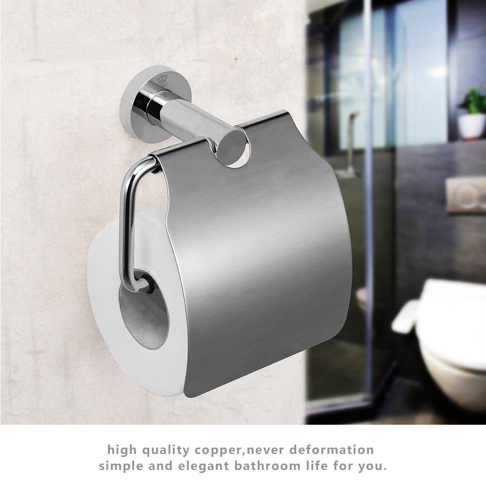 Crw Toilet Paper Holder With Cover Chrom Buy Online In Albania At Desertcart,Chic Home Design Comforter Set