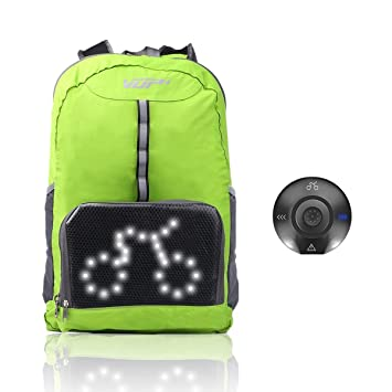 100% Quality Outdoor Hiking Camping Bicycle Led Safety Turnning Signal Light Backpack Signal Light Indicator Reflective Vest Bike Backpack Bicycle Accessories Back To Search Resultssports & Entertainment