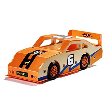 Toys & Hobbies Wooden Racing Car Model Handicraft Gifts Handmade Home Decor Kids Educational Toy Collectibles