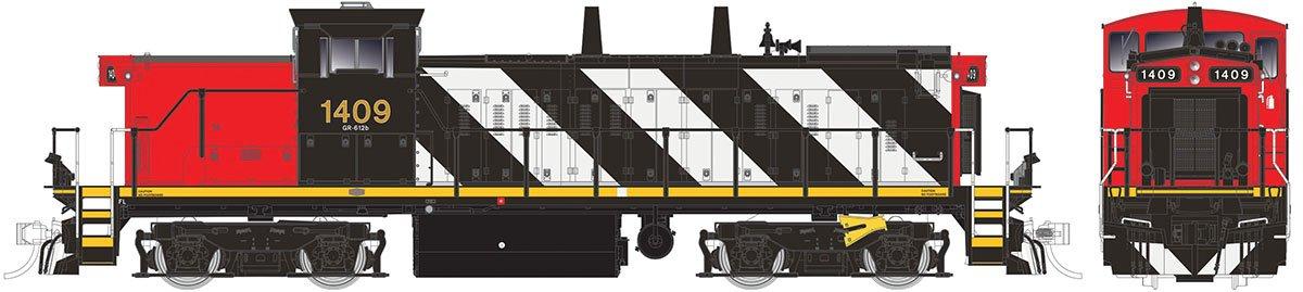 Spur H0 - Diesellok GMD 1B 1400 Canadian National