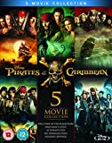 Pirates of the Caribbean: 5-Movie Complete Collection [Blu-ray] (2017)