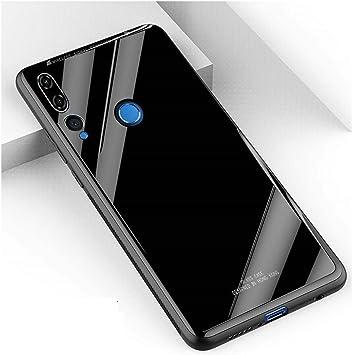 WUFONG Funda para Huawei P Smart Plus 2019,el Marco Suave de TPU+ ...