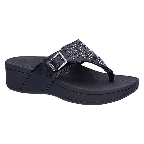 5de1d63c3 Vionic Womens Pacific Capitola Leather Sandals  Amazon.co.uk  Shoes   Bags