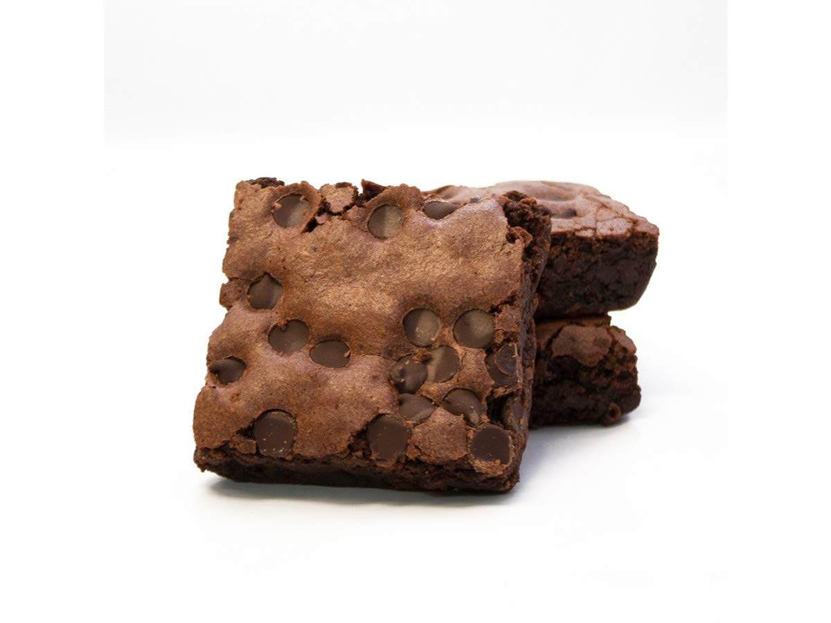 Davids Gluten Free Thaw N Sell Chocolate Chip Brownie Individually Wrapped, 3.5 Ounce -- 48 per case. by Davids