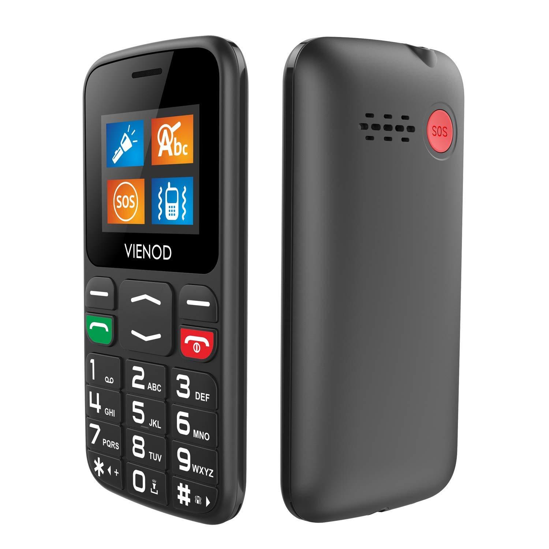 VIENOD V105 gsm Basico Teléfono Móvile para Mayores con Teclas...