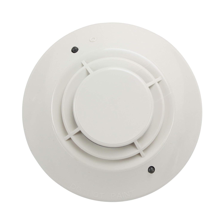 NOTIFIER CO FST-851 Heat Detector, 135 F, Fixed Temperature, W/FLASHSCAN, 6.5 MA, 15-32 VDC