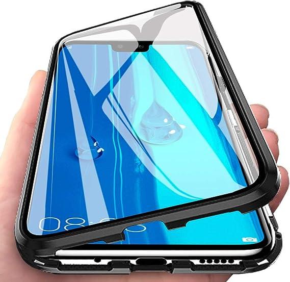 Tempered Glass Film Color : Black Black 2019 Wangl Mobile Phone Tempered Glass Film 25 PCS Full Screen Full Glue Anti-Fingerprint Tempered Glass Film for Huawei Y9 // Enjoy 9 Plus