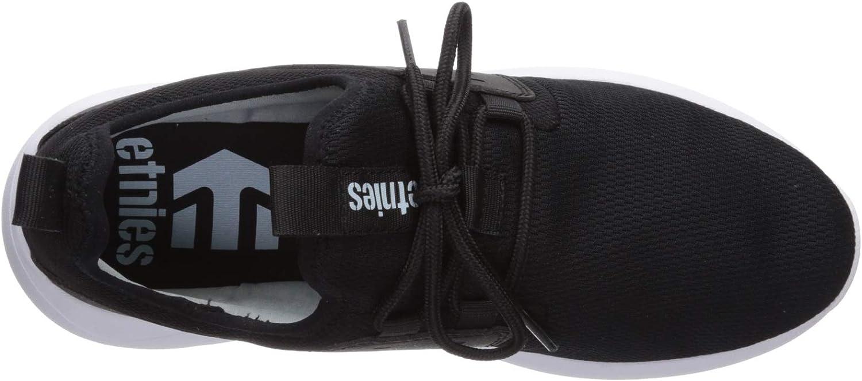 Etnies Mens Vanguard Skate Shoe Black 6 Medium US 4101000497