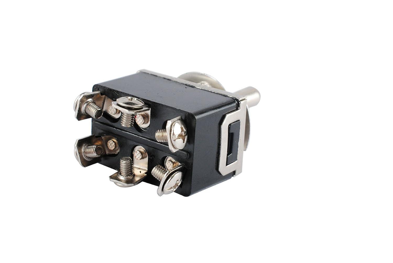 Amazon.com: Femitu Heavy Duty Toggle Switch DPDT Center Off 20 Amp ...