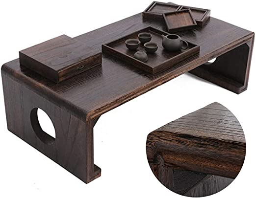 Tabla Mesa de Tatami de Madera Maciza Tabla de Suelo ventanal Mesa ...