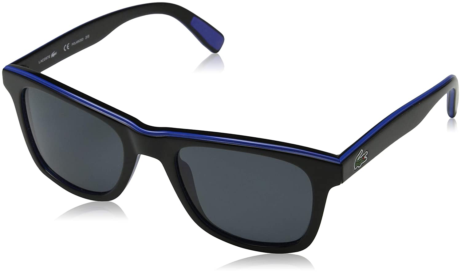 fb4f04d35b Lacoste Polarized Sunglasses - L781SP (Black Blue Black)  Amazon.ca  Sports    Outdoors