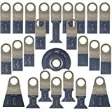 25 x SabreCut SCK25A Mix Blades for Fein SuperCut and Festool Vecturo Oscillating Multitool Multi Tool Accessories by SabreCut