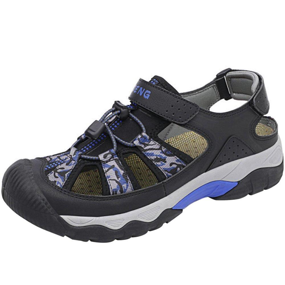 Herren Sommer Sandalen Outdoor Sports Sandalen Strand Schuhe Baotou Anti-Rutsch-atmungsaktiv B07CYZDD7Z Kletterschuhe Abrechnungspreis