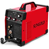 SUNGOLDPOWER 200Amp MIG MAG ARC MMA Stick DC Welder 110/220V Dual Voltage IGBT Inverter