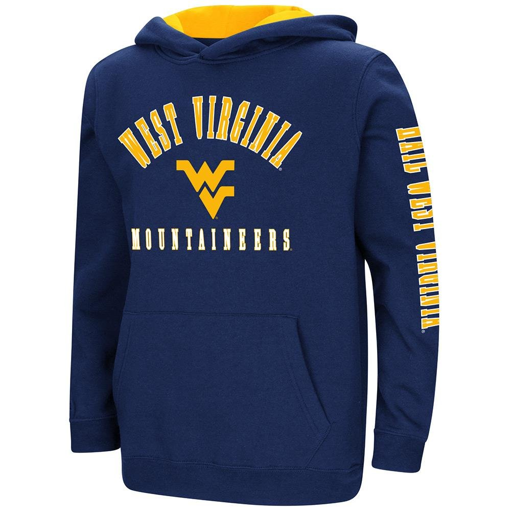 Colosseum Youth West Virginia Mountaineers用プルオーバーパーカー B07FGGCZCX  Large (16/18)