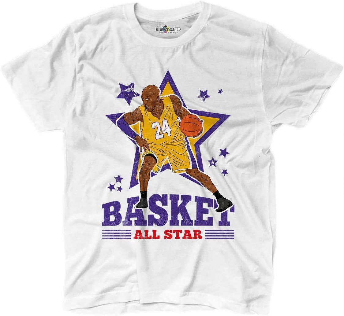 Camiseta camiseta Baloncesto Vintage parodia All Star Kobe Bryant ...