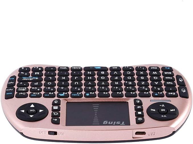 Hehilark - Teclado inalámbrico portátil para Ordenador portátil (2,4 G), Color Negro: Amazon.es: Hogar
