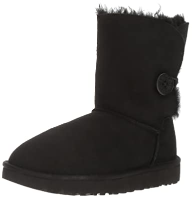 UGG Women's Bailey Button II Winter Boot, Black, ...