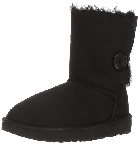 UGG Women's Bailey Button II Winter Boot, Black,3.5 Uk,36 EU